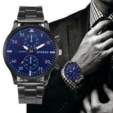 Luxury Men Watch Business Stainless Steel  Analog Quartz Wrist casual Watch 2020