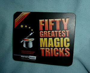 Marvin's Magic MMT120 Fifty Amazing Magic Tricks Game
