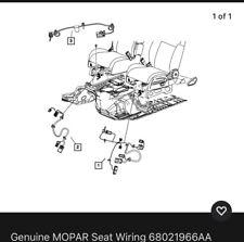 Genuine Mopar Seat Wiring 68021966aa