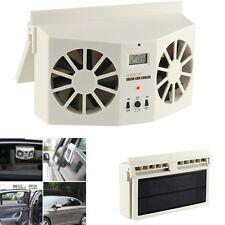 New Solar Powered Car Ventilator Cooler Air Vent Cool Fan Radiator Universal