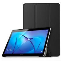 For Huawei MediaPad T3 10 (9.6 Inch) Case Premium Smart Book Stand Cover