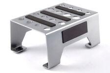 Car Stand Supporto Porta Modello Ergal per modelli 1:8 1:10 Argento - FAST410S