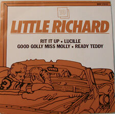 """LITTLE RICHARD RIT ESSO UP-LUCILLE-BUONO-GOLLY MISS MOLLY-PRONTO TEDDY 7"""" EP"""