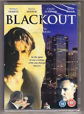THE BLACKOUT - DENNIS HOPPER, ABEL FERRARA - CERT 18 - NEW SEALED R2 DVD - RARE
