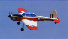 1/8 Scale Arobatic DeHavilland DHC-1 Chipmunk Plans, Templates, Instructions