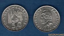 Nouvelle Calédonie - 50 Franc 2001 SUP FDC - New Caledonia