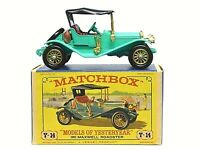 Matchbox Yesteryear Y14-2 1911 Maxwell Roadster In Type 'D3' 'NEW MODEL' Box