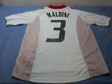 Milan Maglia Trasferta Fin Champions Manchester 2003 JerseyAway MALDINI 3 XL