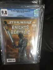 STAR WARS KNIGHTS OF THE OLD REPUBLIC #9 CGC 9.8 1st App of Revan
