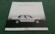 1988 Toyota Corolla Sedan Wagon Sport Coupe todos Trac Grande EE. UU. FOLLETO De 24 páginas
