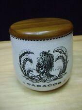 Humidor TOBACCO JAR Vintage AZTEC -    RARE