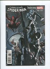 2015 Amazing Spider-Man #13 (9.2) Spiderverse Black Suit Variant Cover