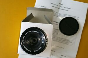 Holga pinhole lens HPL-N for nikon, neuf, jamais utilisé avec notice et boite