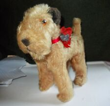 ANTIQUE TOY  WOLF DOG  10 INCHES MADE BY TARA  CIRCA 1950