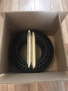2 Solid Tyre In Box,2 levers gift For Pure  Air Electric Scooter!