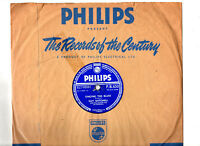 78 RPM.GUY MITCHELL.SINGING THE BLUES / CRAZY WITH LOVE.UK ORIG & CO/SL.VG