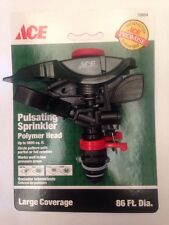ACE Replacement Pulsating Sprinkler Polymer Head 70694 Large Coverage Area