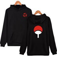 Naruto Uzumaki Anime Sweatshirt Uchiha Sasuke Hoodie Pullover Coat Unisex S-4XL