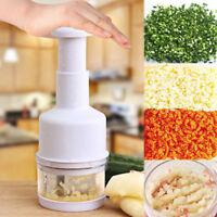 Chopper Pressing Cutter Vegetable Food Onion Garlic Slicer Peeler Mincer Dicer