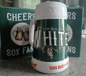 Chicago White Sox Beer Stein Giveaway Glass / Mug / Cup  SGA New In Box 2021