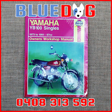 Yamaha YB100 1973-91 Haynes Workshop Manual 970474