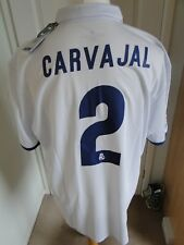 REAL MADRID HOME SHIRT ** CARVAJAL ** 2016-17 BNWT SIZE XXL