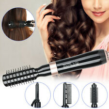 2020 Rotating 4 in 1 Hot Air Brush Dryer Curling Rod Hair Styling Tools New