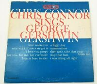 Chris Connor Sings George Gershwin Clarion 611 RARE Flat Edge Pressing VG++