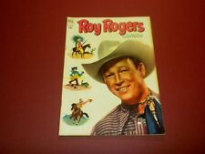 ROY ROGERS COMICS #56 Dell 1952 tv/movie western