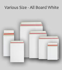 White Envelopes Peel & Seal and Self Seal Sizes DL,C4,C5,C6 Add Lab & Letter op