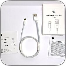 Lightning To USB 1M Charger Cable for original, Genuine Apple iPhone7,6,5 iPad
