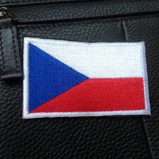 THE CZECH REPUBLIC FLAG CZ FLAG CZECHIA FLAG Česká republika 3D EMBROIDERY PATCH