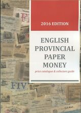 ( ENGLAND ) ***NEW** ENGLISH PROVINCIAL PAPER MONEY - price catalogue **NEW***