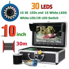 "10"" 30M 1000TVL Fish Finder Underwater Fishing Camera For Ice/Sea/River Fishing"