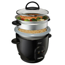 NIB Oster 6 Cup Rice & Grain Cooker With Steamer