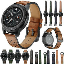 18 20 22mm Genuine Leather Strap Watch Band For Samsung Galaxy Active 42mm/46mm