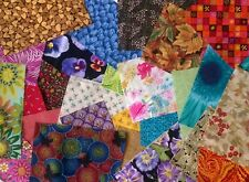 Crafters fabric scraps Pack remnants quilting patchwork Mix bundles 100% cotton