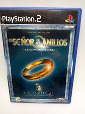 EL SEÑOR DE LOS ANILLOS LA COMUNIDAD DEL ANILLO de SONY PS2