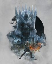 POSTER THE WITCHER 2 3 KING OF THE WILD HUNT EREDIN GERALT OF RIVIA VIDEOGAME #2