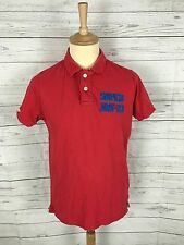 Men's Superdry Polo Shirt - Large - Red - Great Condition