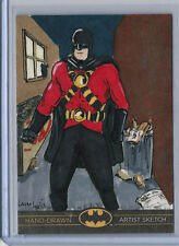 Batman: The Legend 2013 Cryptozoic Dc Sketch Card by Laura Inglis 1/1