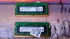 Memoria RAM Micron MTA4ATF51264HZ SoDIMM 2x4GB DDR4 19200 PC4-2400T SODIMM 8GB
