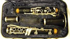 SELMER PARIS 10G PROFESSIONAL Bb GRANADILLA WOOD CLARINET SILVER PLATED KEYS