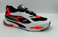 Puma RS-Fast black white red blast Rsx