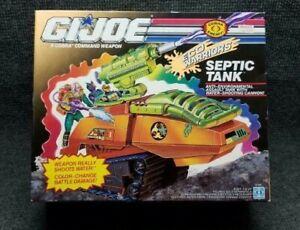 GI Joe Septic Tank Cobra Command Weapon NIB