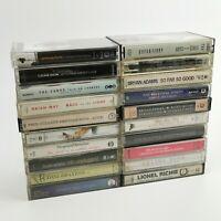 ~ Vintage Joblot / Bundle ~ Music Audio Cassette Tapes ~ Rock / Pop / Ballads ~