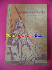 book libro CECILIO F. UGHETTO Corso di storia vol.II per scuola media A & C(L32)