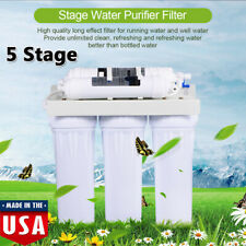 5 Stage Reverse Osmosis Drinking Water Filter System RO Filtration Purifier Home