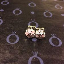 Genuine Silver925 Pandora Magnolia Bloom Stud Earrings