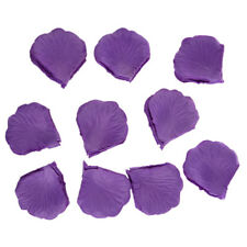 1000Pcs Purple Silk Rose Petals Malva for Wedding Party Decoration Confetti CP